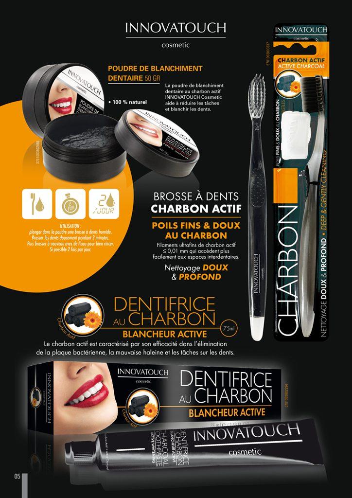 Plaquette dentaire charbon